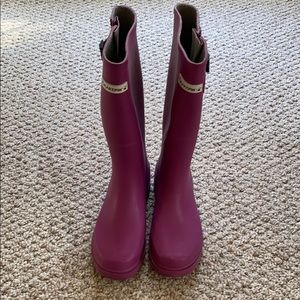 BearPaw rain/snow boots with inserts